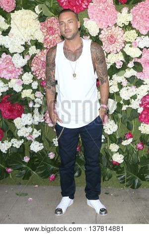 LOS ANGELES - JUL 7: Calum Best at the prettylittlething.com launch party at a private residence on July 7, 2016 in Los Angeles, California