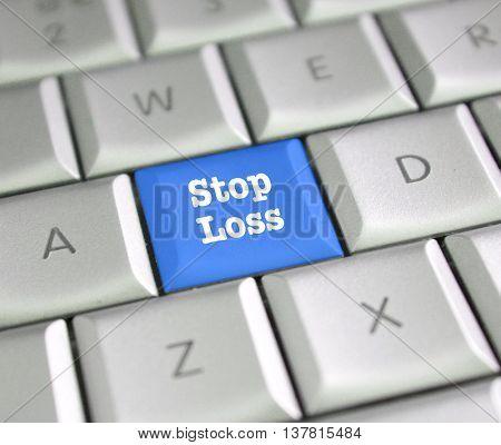 Stop loss computer key
