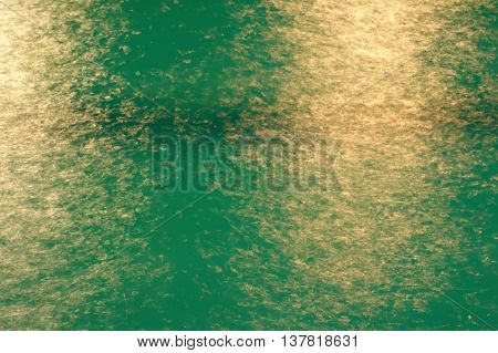 blur light in blue water at swimming pool background