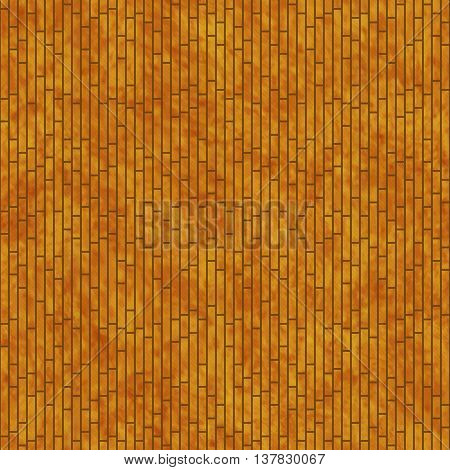 Orange Rectangle Slates Tile Pattern Repeat Background that is seamless and repeats, 3D Illustration