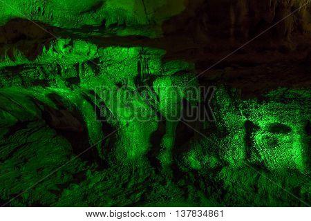 limestone cave stalactite stalagmite Prometheus georgia travel