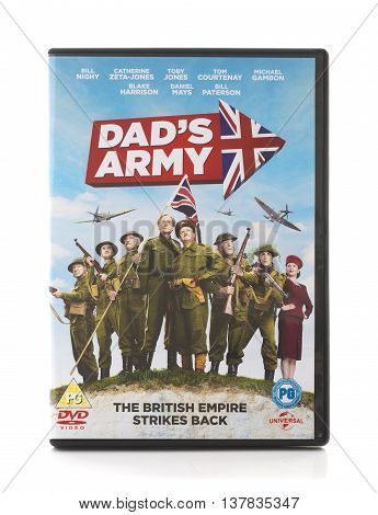 SWINDON UK - JULY 10 2016: Dad's Army DVD The British Empire Strikes Back