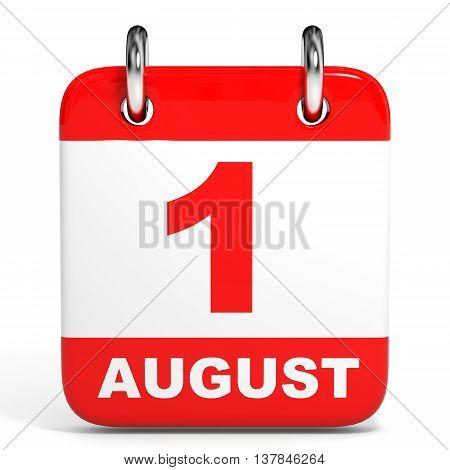 Calendar. 1 August.