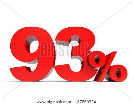 Red Ninety Three Percent Off. Discount 93%.
