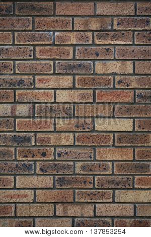red brickwall. perfect for background.