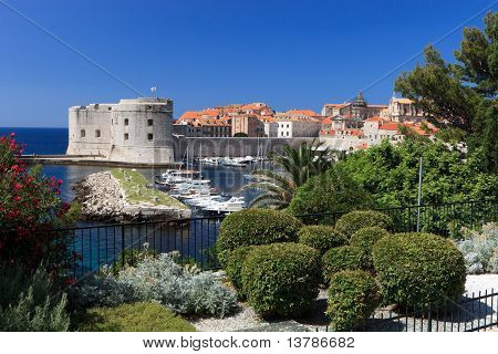 Dubrovnik Old Town And Harbour