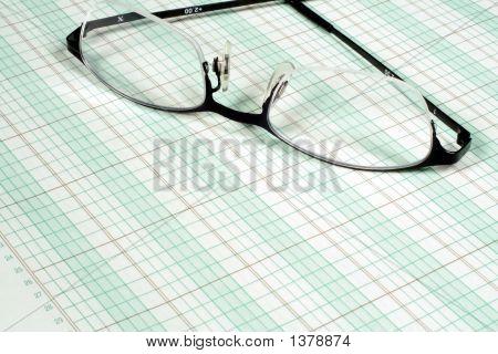Ledger Paper And Glasses