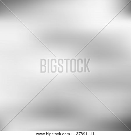 Vector, abstract background with blurred forms and blotchy black and white