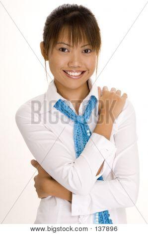 Chica de blanco 8