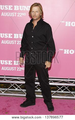 David Spade at the Los Angeles premiere of 'House Bunny' held at the Mann Village Theatre in Westwood, USA on August 20, 2008.