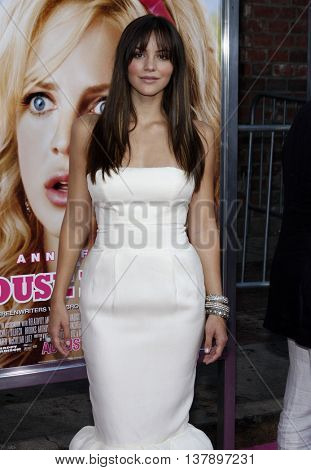 Katharine McPhee at the Los Angeles premiere of 'House Bunny' held at the Mann Village Theatre in Westwood, USA on August 20, 2008.