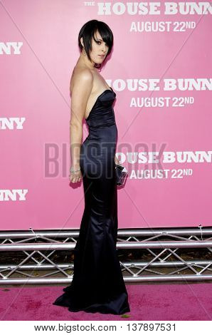 Rumer Willis at the Los Angeles premiere of 'House Bunny' held at the Mann Village Theatre in Westwood, USA on August 20, 2008.