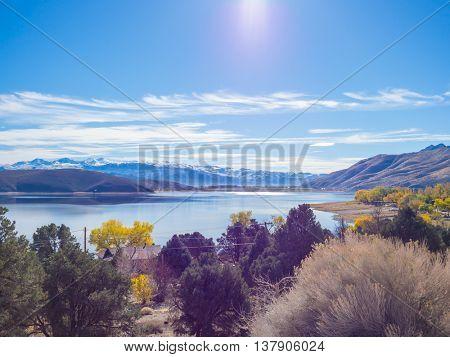 Topaz Lake , Nevada