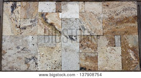 Multi-colored Granite And Marble In The Range, Texture
