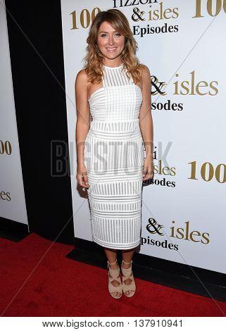 LOS ANGELES - JUL 9:  Sasha Alexander arrives to the