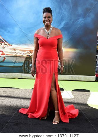 LOS ANGELES - JUL 9:  Leslie Jones arrives to the