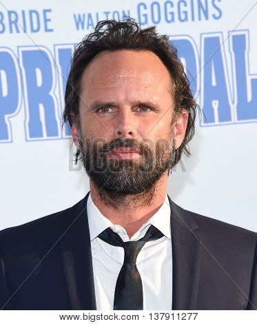 LOS ANGELES - JUL 7:  Walton Goggins arrives to HBO's 'Vice Principals' Premiere on July 07, 2016 in Hollywood, CA.
