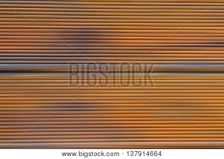 Abstract blurred modern fence background with lines