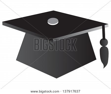 Graduation Cap Education symbol cap square professor learning computer icon