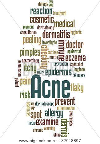 Acne, Word Cloud Concept 2
