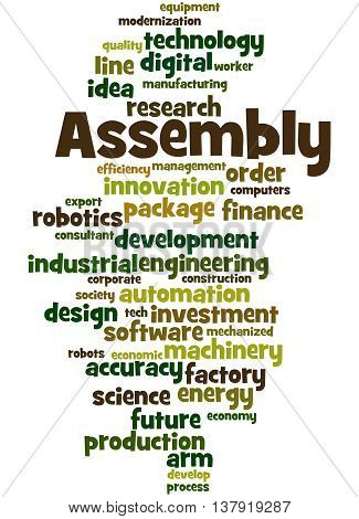 Assembly, Word Cloud Concept 9