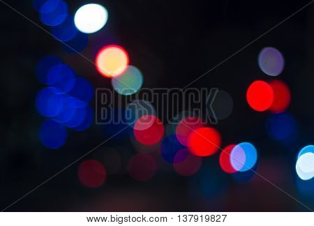 Blur motion. Blur background. Abstract blur. Blurred image of festive lights that can be used as background
