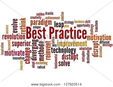 Best Practice, Word Cloud Concept