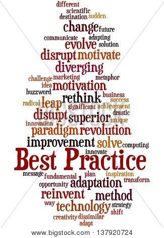 Best Practice, Word Cloud Concept 9