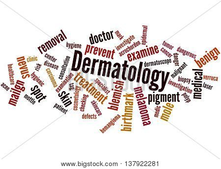 Dermatology, Word Cloud Concept 5