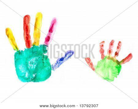 hand imprints