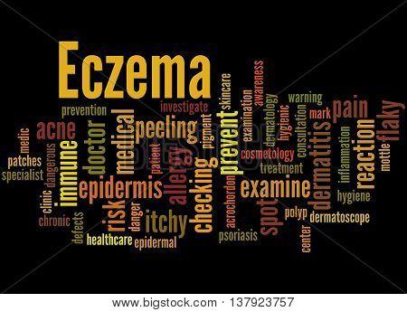 Eczema, Word Cloud Concept 5