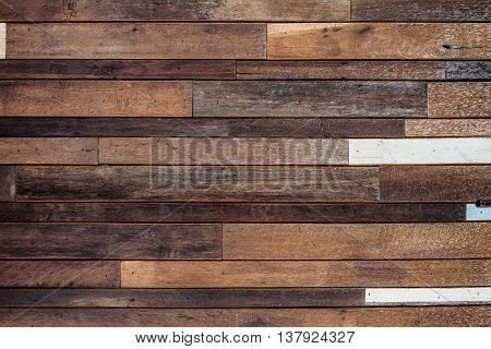 old hard wood plank wall background forign and decoration