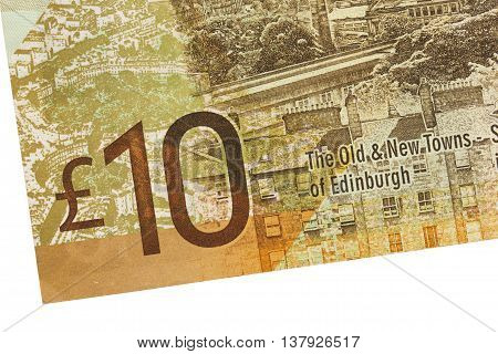 Scottish Banknote, 10 Pounds