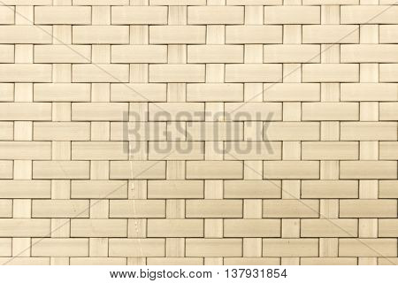 The color cream plastic weaving texture background