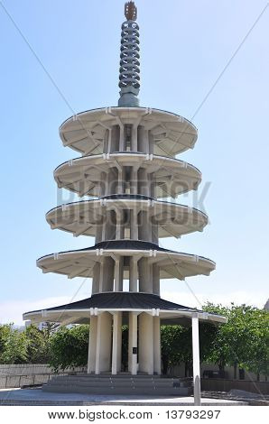 Japantown Peace Plaza In San Francisco