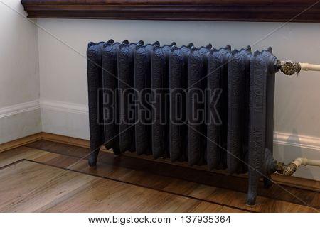 Retro styled cast iron radiator