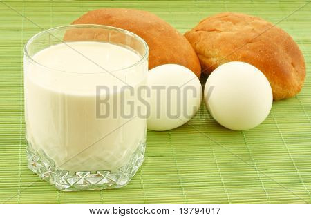 Milk, Eggs And Biscuits
