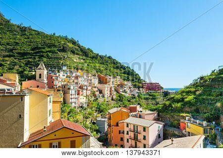 Manarola Town, Cinque Terre, Italy