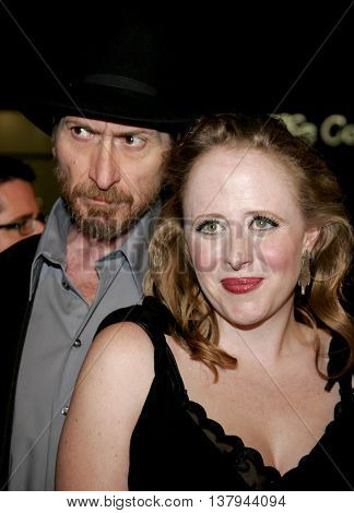Frank Miller and Hildy Menick at the Los Angeles premiere of '300' held at the Grauman's Chinese in Hollywood, USA on March 5, 2007.