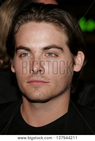 Kevin Zegers at the Los Angeles premiere of '300' held at the Grauman's Chinese in Hollywood, USA on March 5, 2007.
