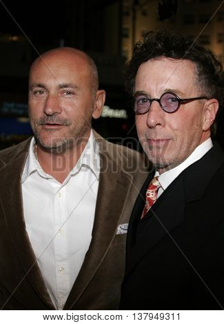 Gianni Nunnari and Mark Canton at the Los Angeles premiere of '300' held at the Grauman's Chinese in Hollywood, USA on March 5, 2007.