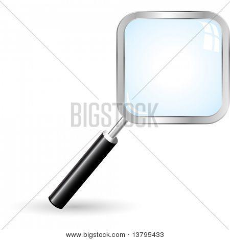 Icono de búsqueda. Ilustración del vector.