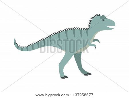 Dinosaur cartoon vector illustration. Cartoon dinosaurs cute monster funny animal and prehistoric character cartoon dinosaur. Cartoon comic tyrannosaurus fantasy dinosaur