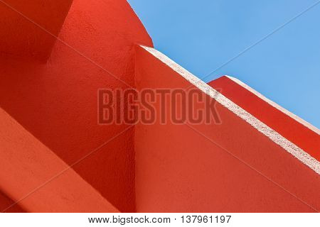 Abstract Geometry Of Orange Rugger Bending