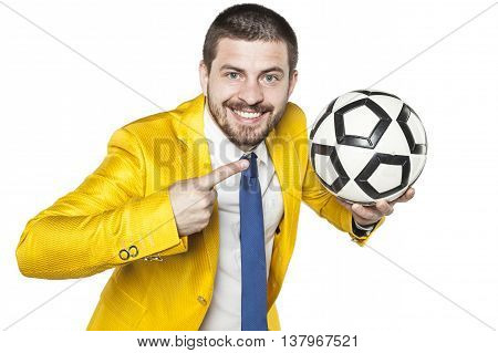 Manager Points On The Ball