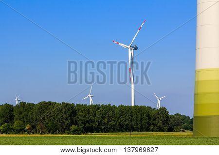Wind Power Plant, Energy Revolution, Renewable Energy