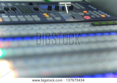 Video And Audio Production Switcher