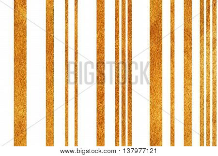 Golden Striped Background.