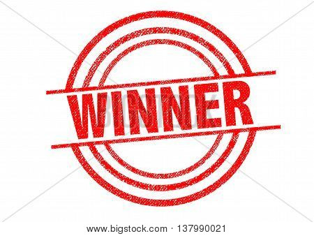 WINNER Rubber Stamp over a white background.