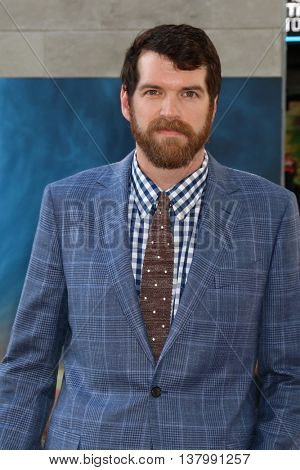 LOS ANGELES - JUL 9:  Timothy Simons at the Ghostbusters Premiere at the TCL Chinese Theater IMAX on July 9, 2016 in Los Angeles, CA